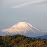 奇妙な雲と富士山