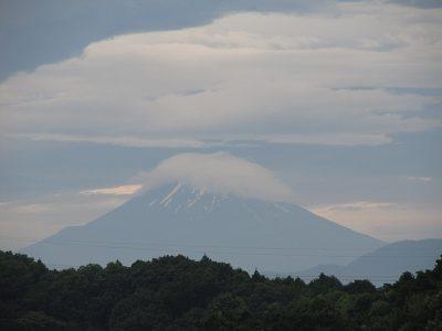 ご来光は見えたかな?今朝の富士山