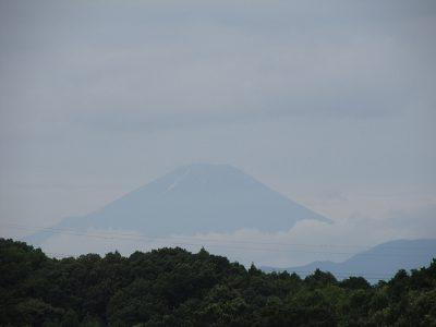 おっ、富士山が見える!