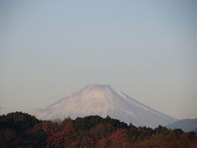 さらに北風に磨かれた富士山