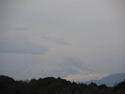 2018成人の日の富士山