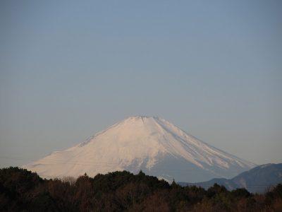 極寒の富士山と丹沢