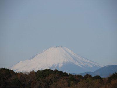 なぜか表彰台に見えた富士山