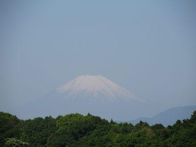 GW初日の富士山