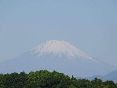 GW後半2日目の富士山