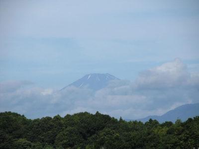 山開き前日の富士山
