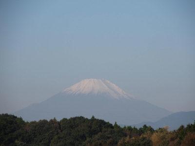 「秋富士」に戻った富士山