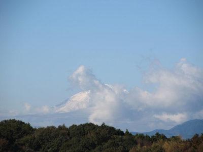 三連休と連休明けの富士山