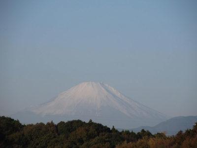 11月最後の富士山