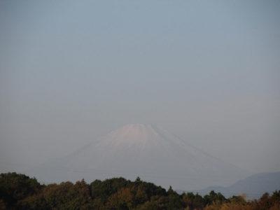 12月最初の富士山