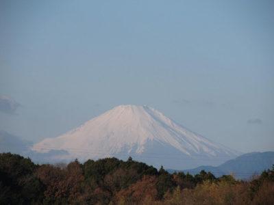 2019年元旦の富士山
