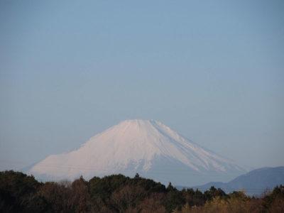 成人の日の富士山