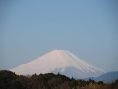 富士山は、まだまだ真冬です