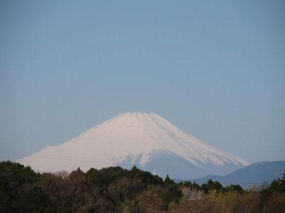 真冬の富士山再び