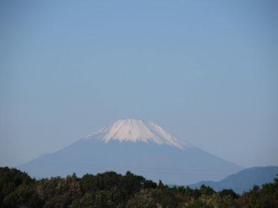 立冬の富士山