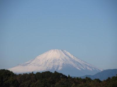 雪化粧を増した富士山