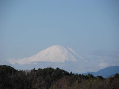 令和2年元旦の富士山