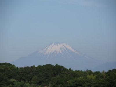梅雨入り前、最後?の富士山