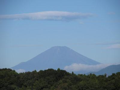誰もいない?真夏の富士山