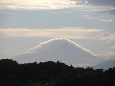 秋の富士山七変化