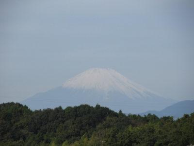 やっと訪れた秋空と富士山