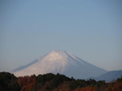 エプロン姿をした富士山