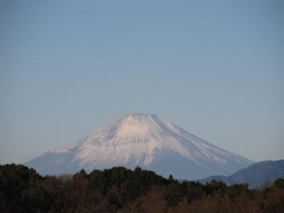2021年元旦の富士山