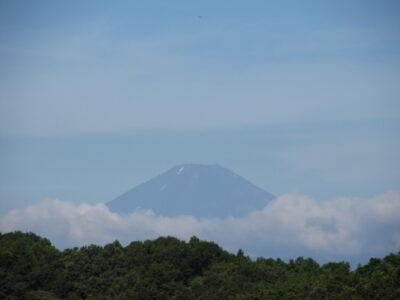 梅雨明けの富士山