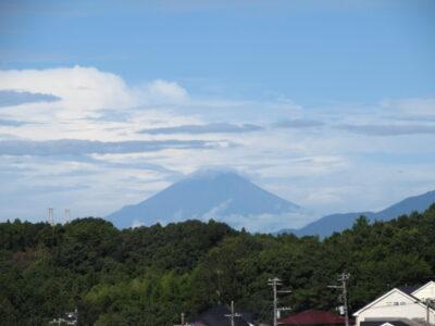 なんとなく秋空と富士山